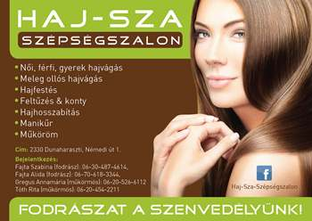 HAJ-SZA sz�ps�gszalon